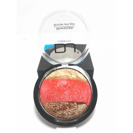 Rubor Mineralizado Bronce y Dorado