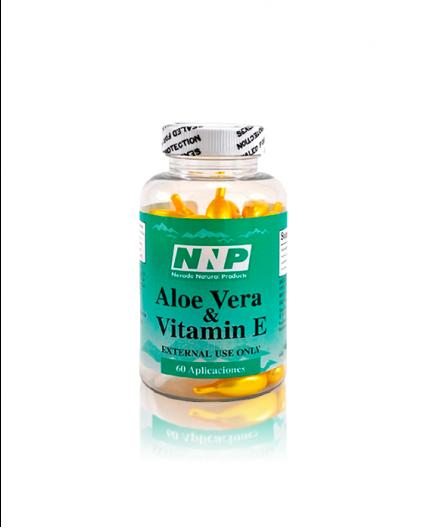 Capsulas de Vitamina E y Áloe Vera Nevada