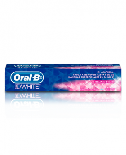 Crema Dental Oral B 3D White