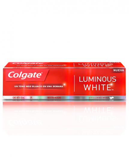 Crema dental Colgate Luminous White