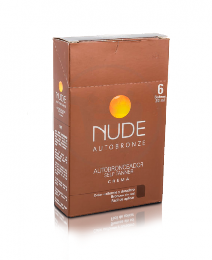 Autobronceador Nude Sobre 20 ml