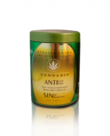 Tratamiento Crecimiento Capilar Cannabis de Very Secret