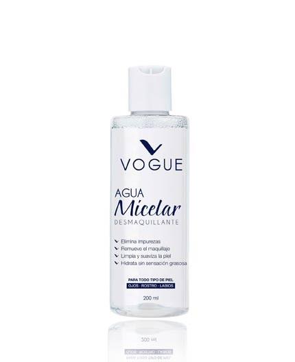 Agua Micelar Desmaquillante Vogue
