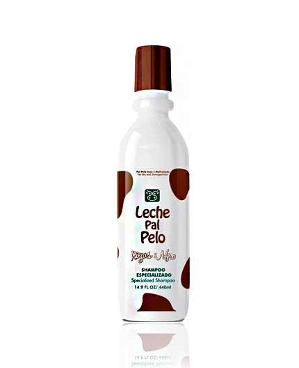 Shampoo de Leche Pal Pelo Rizos y Afro