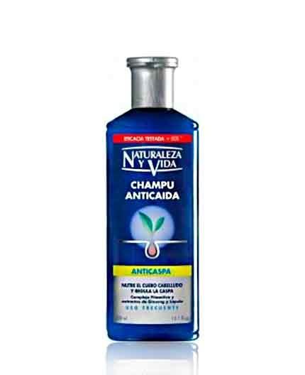 Shampoo Anticaída Mujer y Hombre Naturaleza y Vida