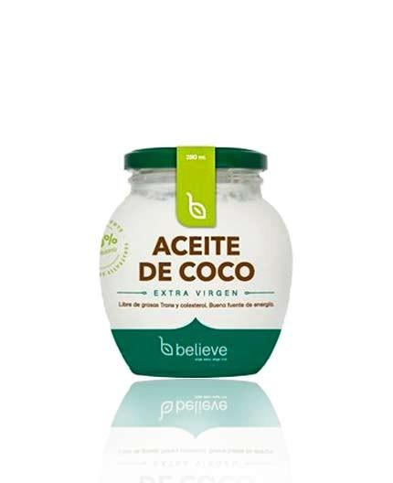 Aceite de Coco Extra Virgen Believe