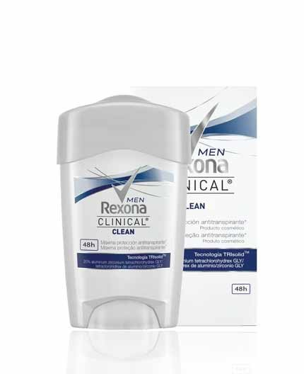 Desodorante Rexona Clinical Azul Clean