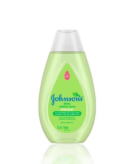 Shampoo Johnsons Baby para Cabellos Claros