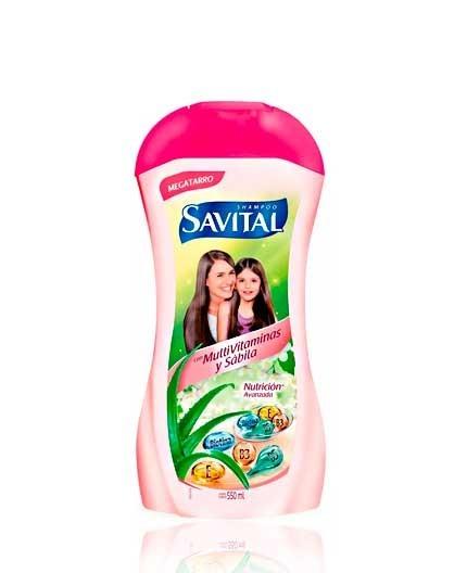 Shampoo Savital Multivitaminas y Sábila