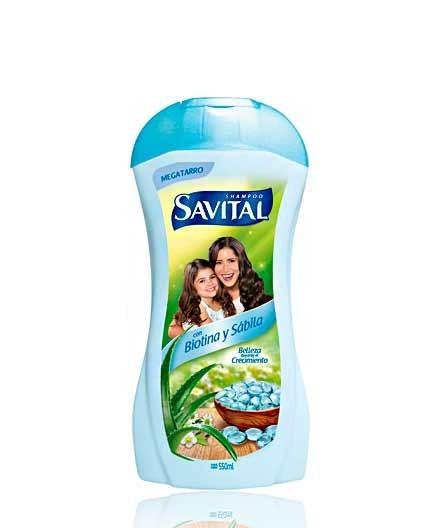 Shampoo Savital Biotina y Sábila