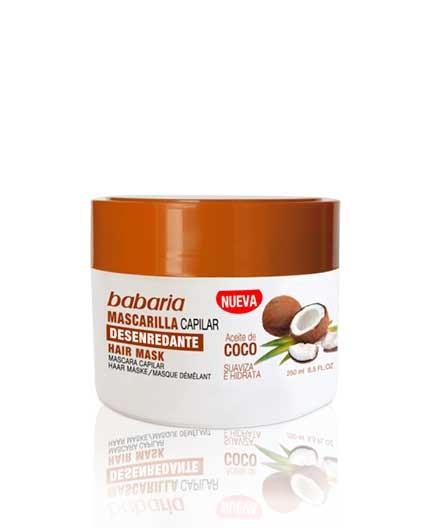 Mascarilla Capilar con Aceite de Coco Babaria