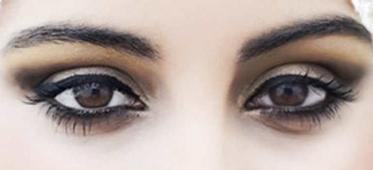 tipos de maquillaje para noche ojos cafes