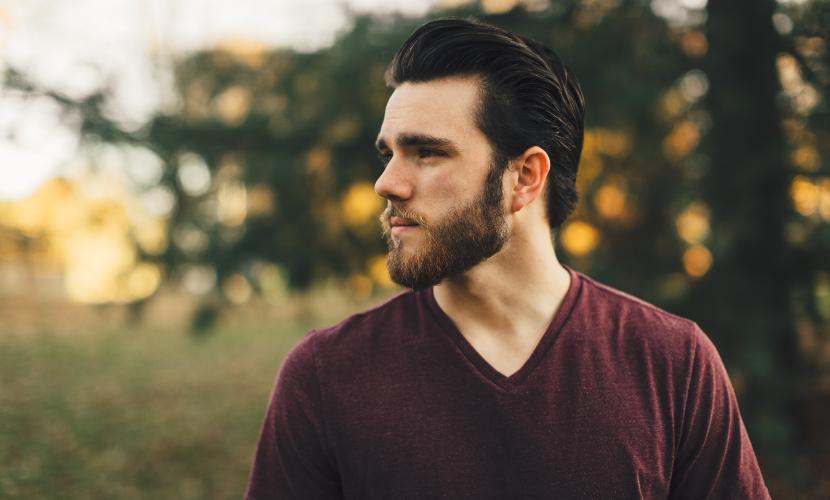 barba en hombres